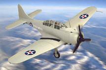 "SBD-1 Dauntless U.S.M.C. ""VMSB-232"" EWA, Hawaii, Pearl Harbor, Dec. 7, 1941"