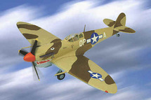 "Spitfire Mk VC U.K. ""Chappie"" 4th FS, 52nd FG, Pilot Lt. Richard ""Dixie"" Alexander"