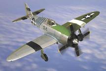 "P-47D Razorback Thunderbolt U.S.A.A.F.? ""The Flying Abortion"" 1st Air Commando Group"