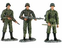 Soldiers of the German Army, WWII, 3-Piece Set