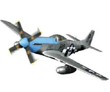 """P-51D Mustang USAAF 352nd FG, 487th FS, """"Cripes a Mighty 3rd"""""""