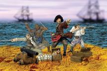 Figure Set Pirates