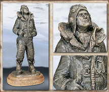 "Sculpted Figures ""Another Mission"" Garman Sculptures"