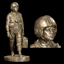 "Sculpted Figures ""Combat Pilot"" Garman Sculptures"