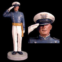 "Sculpted Figures ""USAFA Cadet - Male"" Garman Sculptures"