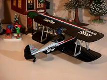 Waco Bi-Plane Amoco Silver UBF