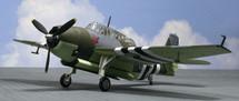 TBF/TBM Avenger Mk.II JZ 490, Fleet Air Arm, Donibristle, 1944