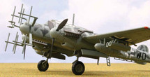 "BF-110G-4 Oblt. Martin Drewes"""