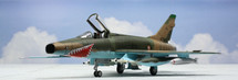 """F-100D Super Sabre Escadron de Chasse 4/11 """"Jura"""", Djibouti, 1978"""