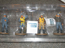 Metal Figures WWII British R.A.F./German Luftwaffe WWII Pilots