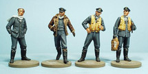 Metal Figures WWII British Aviation RAF Aces