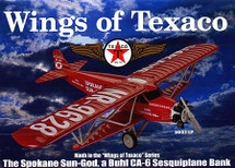 "Spokane Sun God Wings of Texaco"" Texaco #9 in the Series Racing Champions & Ertl"