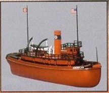 """Tugboat Texaco #3 """"The American"""" Tugboat, Special Edition Racing Champions & Ertl"""
