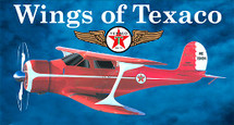 """Beech Staggerwing Wings of Texaco"""" #12 in the series Racing Champions & Ertl"""