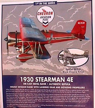 Stearman Chevron 1930 4E #1 in series Special Edition Racing Champions & Ertl