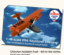 Loening Chevron Keystone #4 in a series Standard Edition Racing Champions & Ertl