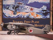 Ford Tri-Motor Wings of Texaco #7 in the series Standard Edition Racing Champions & Ertl