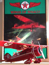 1929 Lockheed Air Express Wings of Texaco 1929 1st in the series Standard Edition Racing Champions & Ertl