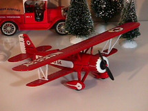 Stearman Bi-plane Wings of Texaco #3 in the Series Racing Champions & Ertl