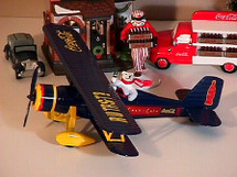"Stearman Coca-Cola ""Polar Bear"" Racing Champions & Ertl"