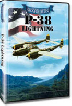 DVD P-38 Lightning Roaring Glory DVD's