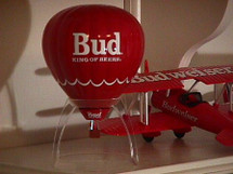 """Hot Air Balloon Budweiser """"King of Beers"""""""