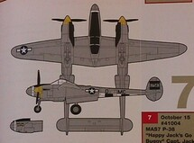 "P-38 Lightning Happy Jack`s ""Go Buggy"""