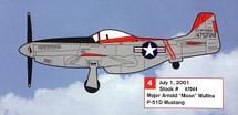 "P-51D Mustang Major Arnold ""Moon"" Mullins"