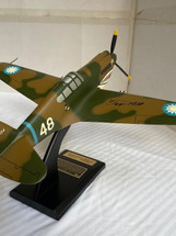 P-40 Tex Hill (signed on wing) P-40 Warhawk