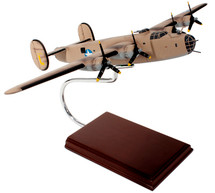 B-24 Liberator 1/62 Ploesti Raid Pink Mahogany Display Model