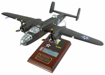 B-25 DOOLITTLE RAIDER 1/41 SIGNED BY RICHARD COLE
