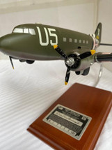 C-47 BAND OF BROTHERS WILLIAM GUARNERE 1/62 Intentional Weathered Effects on Wings and Fuselage