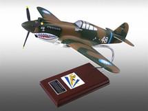 P-40B TOMAHAWK  1/24 #48 AS FLOWN BY TEX HILL