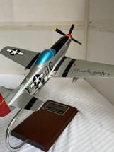 P-51D Mustang Yeager signed