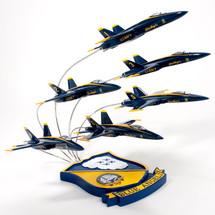 F/A-18 BLUE ANGELS 6 PLANE FORMATION 1/72