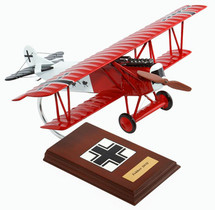 FOKKER DVII (D7) FIGHTER (RED) 1/20