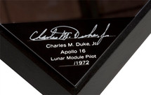 APOLLO CAPSULE SIGNED BY CHARLIE DUKE