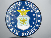 U.S. Air Force Wall Plaque
