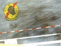 Display Base USN VFA-25 Fist of the Fleet (small) 9x12