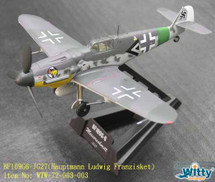 Bf 109G Luftwaffe JG 27, Ludwig Franzisket