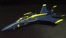 "F/A 18D Hornet USN 'Blue Angels"" No. 7 Ship"