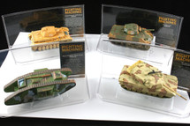 Collectors Set of Four History of Tank Warfare Corgi