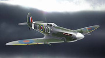 Supermarine Spitfire Royal Air Force WWII Diecast Display Model
