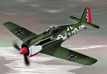 FW-190 Luftwaffe WWII Diecast Model