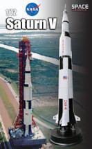 Saturn V Rocket NASA Display Model, Apollo 11, Launch July 16th, 1969