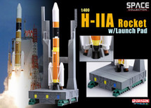 H-IIA Rocket JAXA, Japan, w/Launch Tower