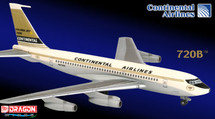 Continental Airlines B720 w/ Collector Tin Box