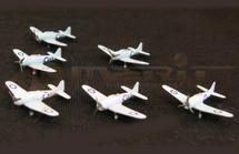 SBD Dauntless - Battle of Midway, 1942, Set of Six, Set of Six (Pre-Assembled)