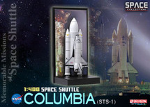 """Space Shuttle """"Columbia"""" w/SRB (STS-1) - Memorable Missions of Space Shuttle (Space)"""