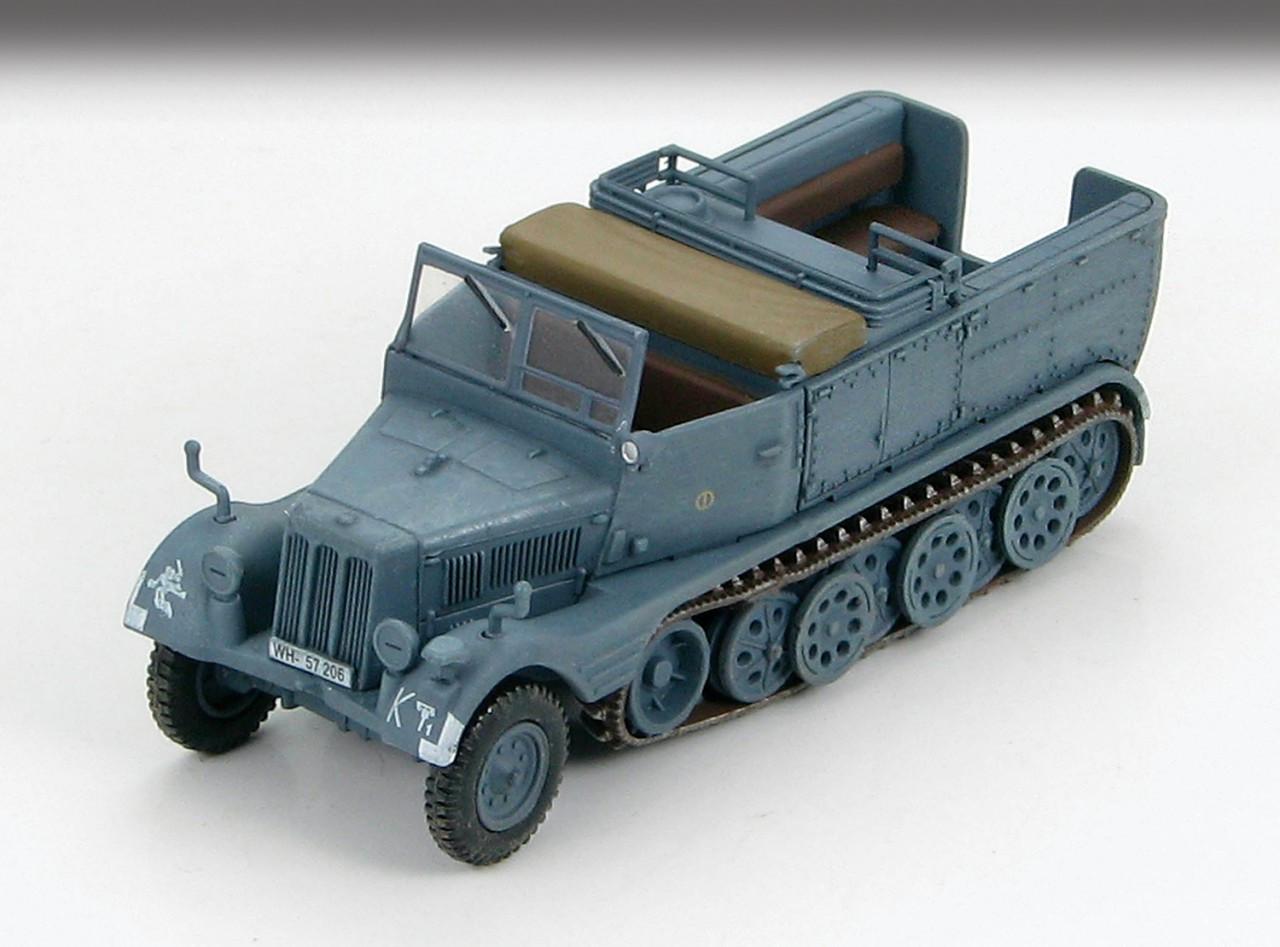 3ton Engineer Half Track German Sd.Kfz.11 Preiser  16544 New 1//87 Plastic Kit